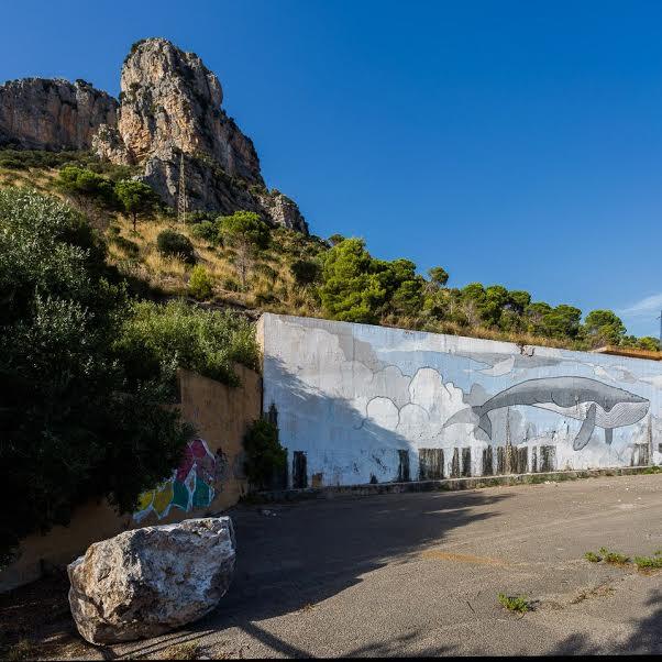 Terracina, la frana di Monte Leano