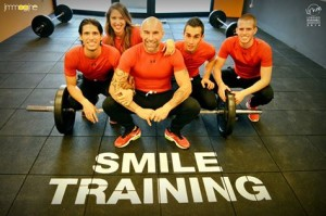 il team smile training di crossfit