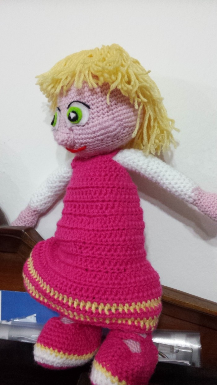 pantera rosa Amigurumi (tutorial schema)/How to crochet pink ... | 1244x700