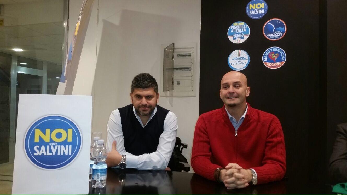 Francesco Zicchieri e Nicola Procaccini