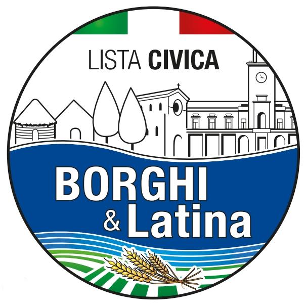 logo lista civica dei Borghi Latina