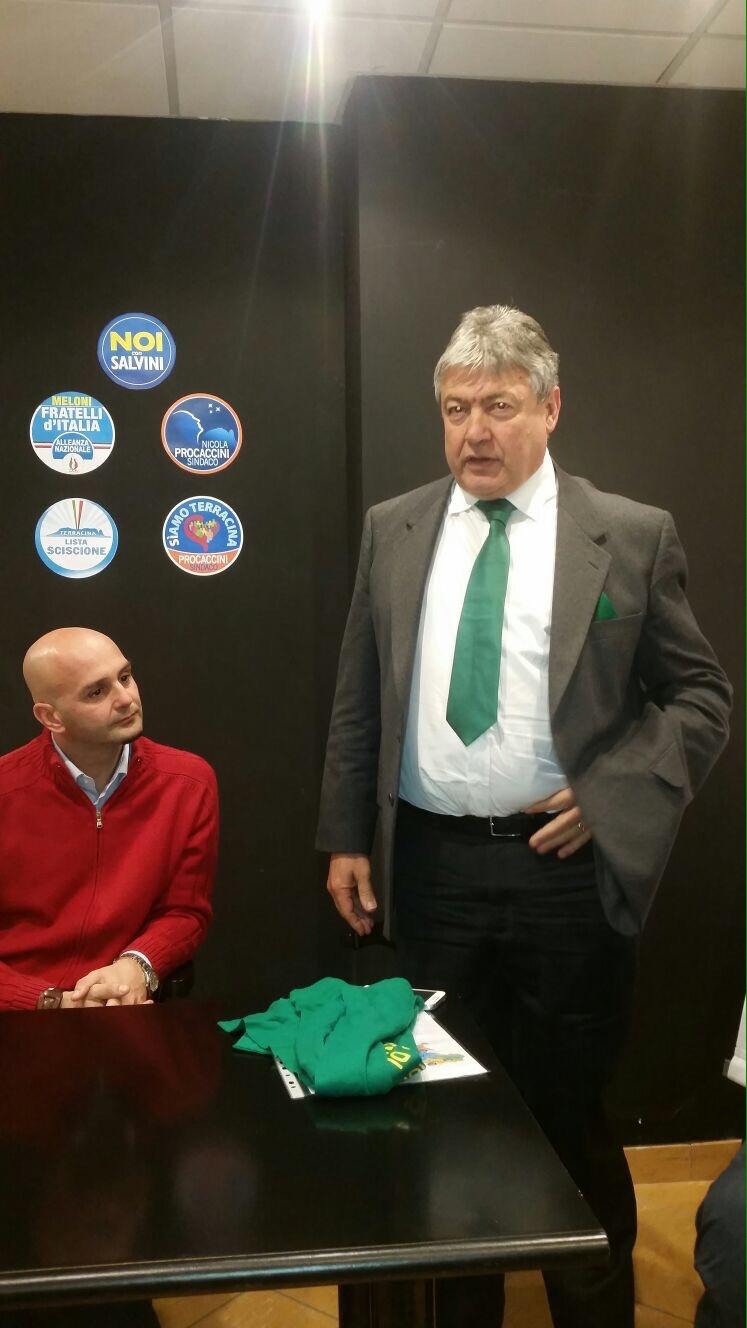 Nicola Procaccini e Umberto Fusco