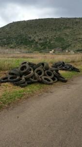 Sezze, rifiuti in pianura (4)