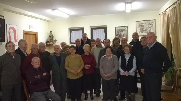 Il centro anziani di Lenola