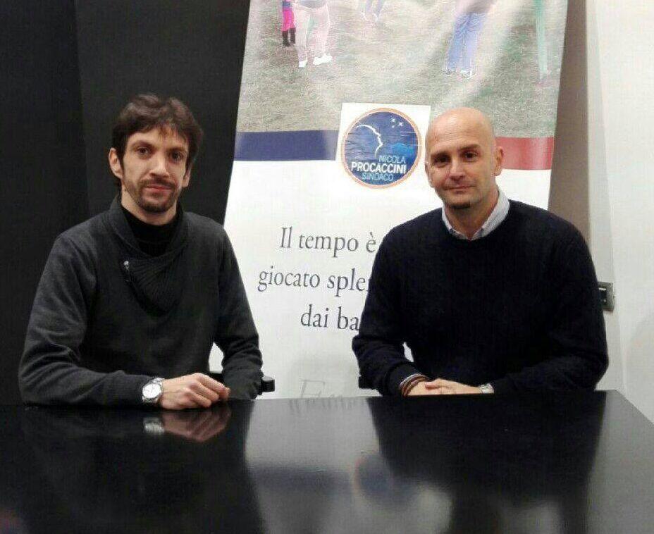 Nildo Moretti e Nicola Procaccini