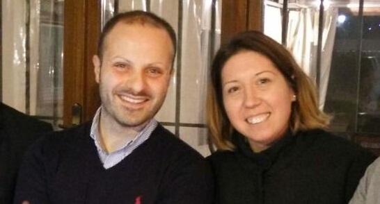 Paolo Torelli e Daniela Lauretti