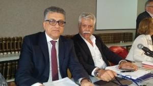 L'assessore Vincenzo Borrelli e il sindaco Maurizio Lucci