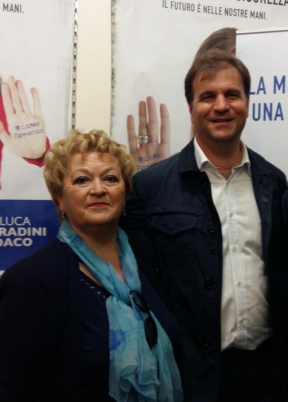 Augusta Nardoni e Gianluca Corradini