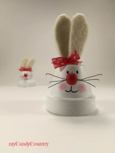 Coniglietti pasquali fai-da-te