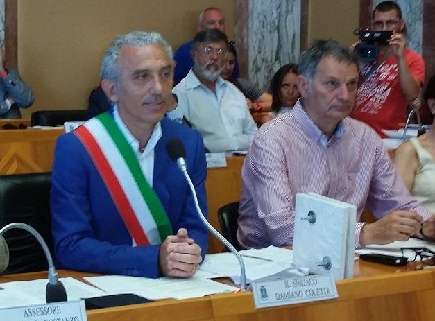 Damiano Coletta e Felice Costanti