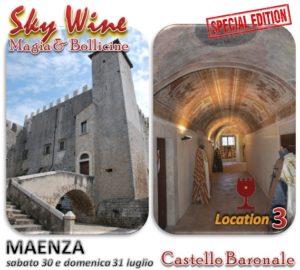 Maenza Castello location 3 - Sky Wine Magia e Bollicine