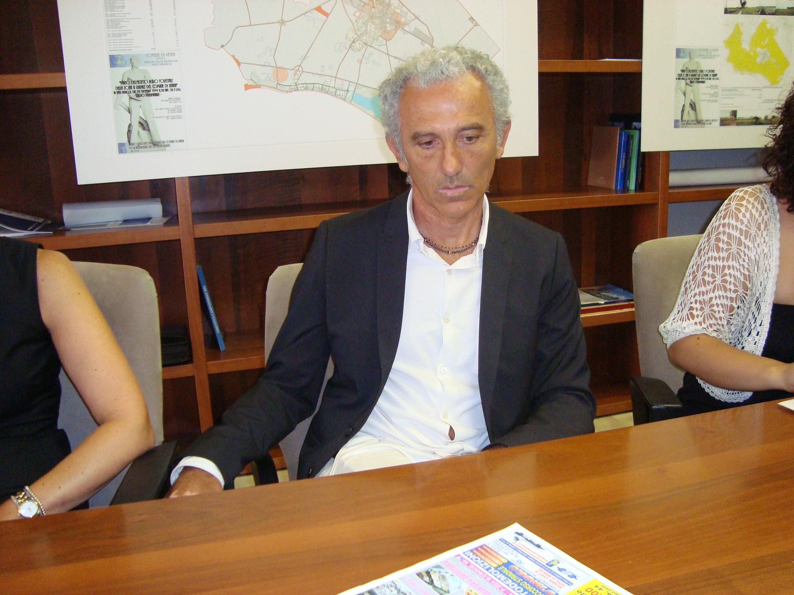 Il sindaco Damiano Coletta