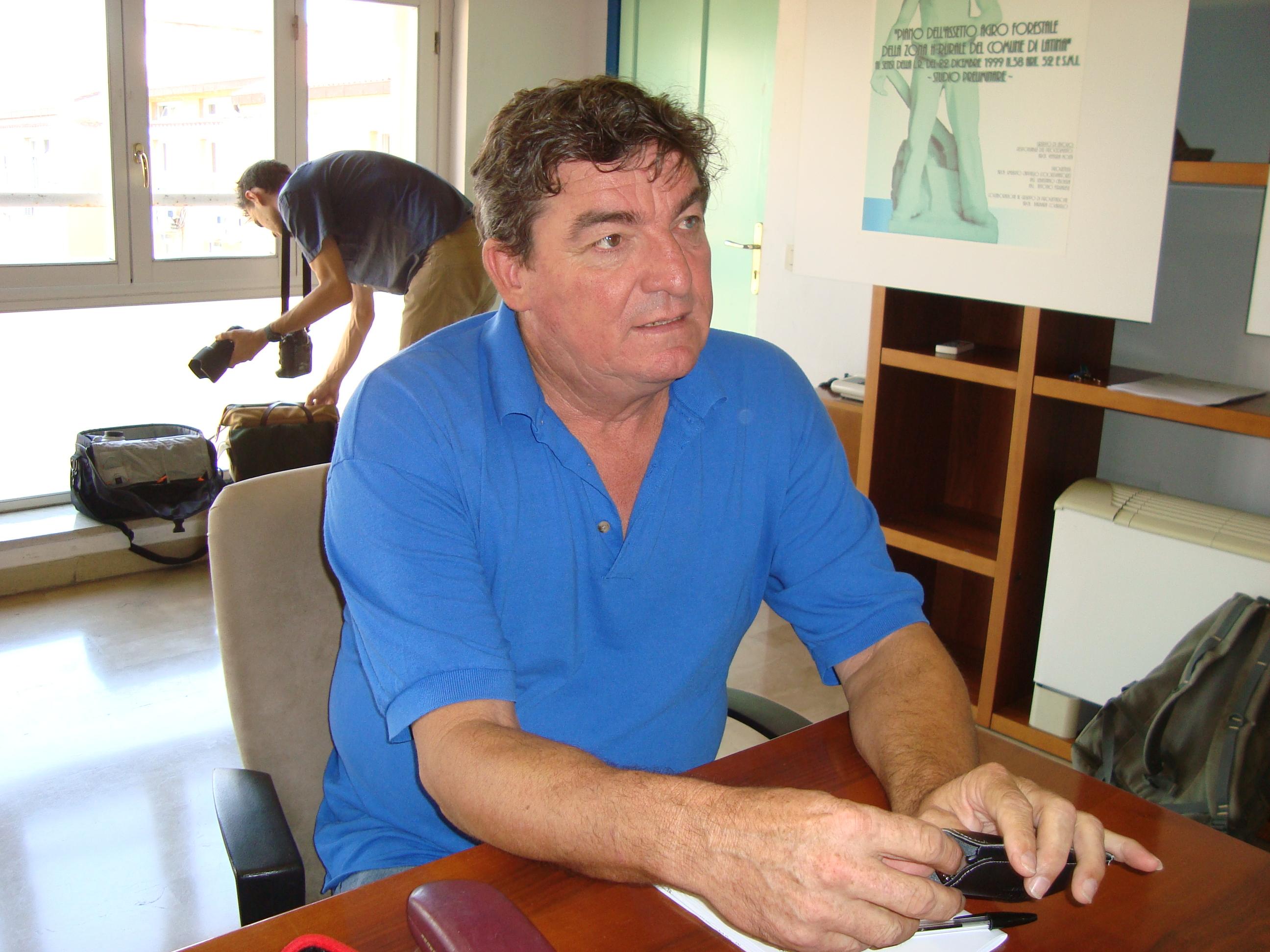 L'assessore Roberto Lessio