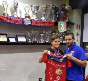 Giulia Bonci con mister Cibelli 2