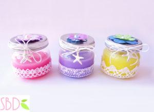 candele profumate fatte in casa