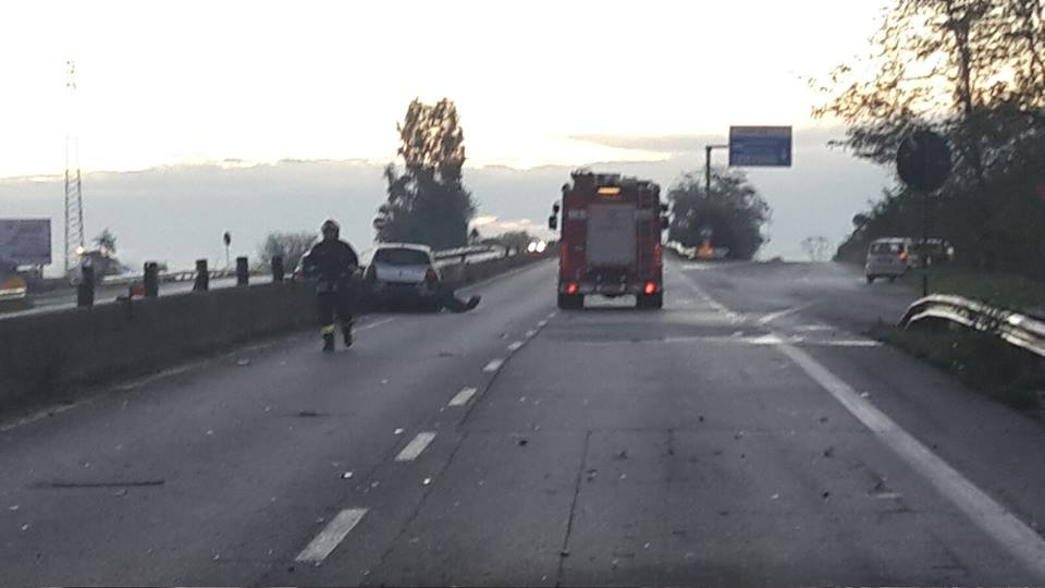 Altri due incidenti sulla Pontina in direzione Latina. Un ferito non grave