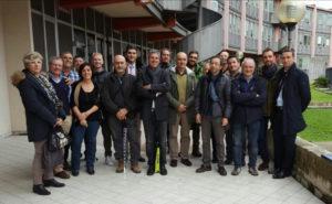 Foto di gruppo per la task force convocata in Regione dal Parco nazionale del Circeo