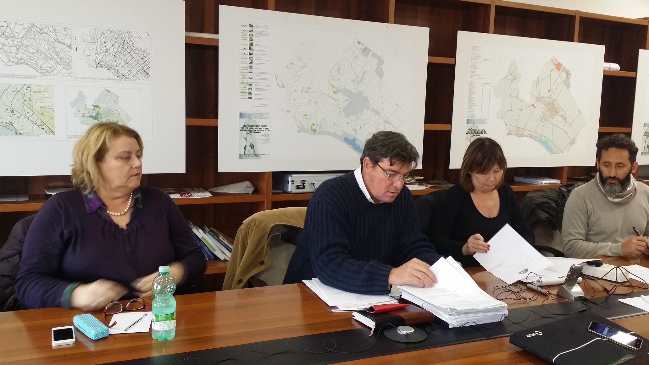 Roberto Lessio in commissione Ambiente