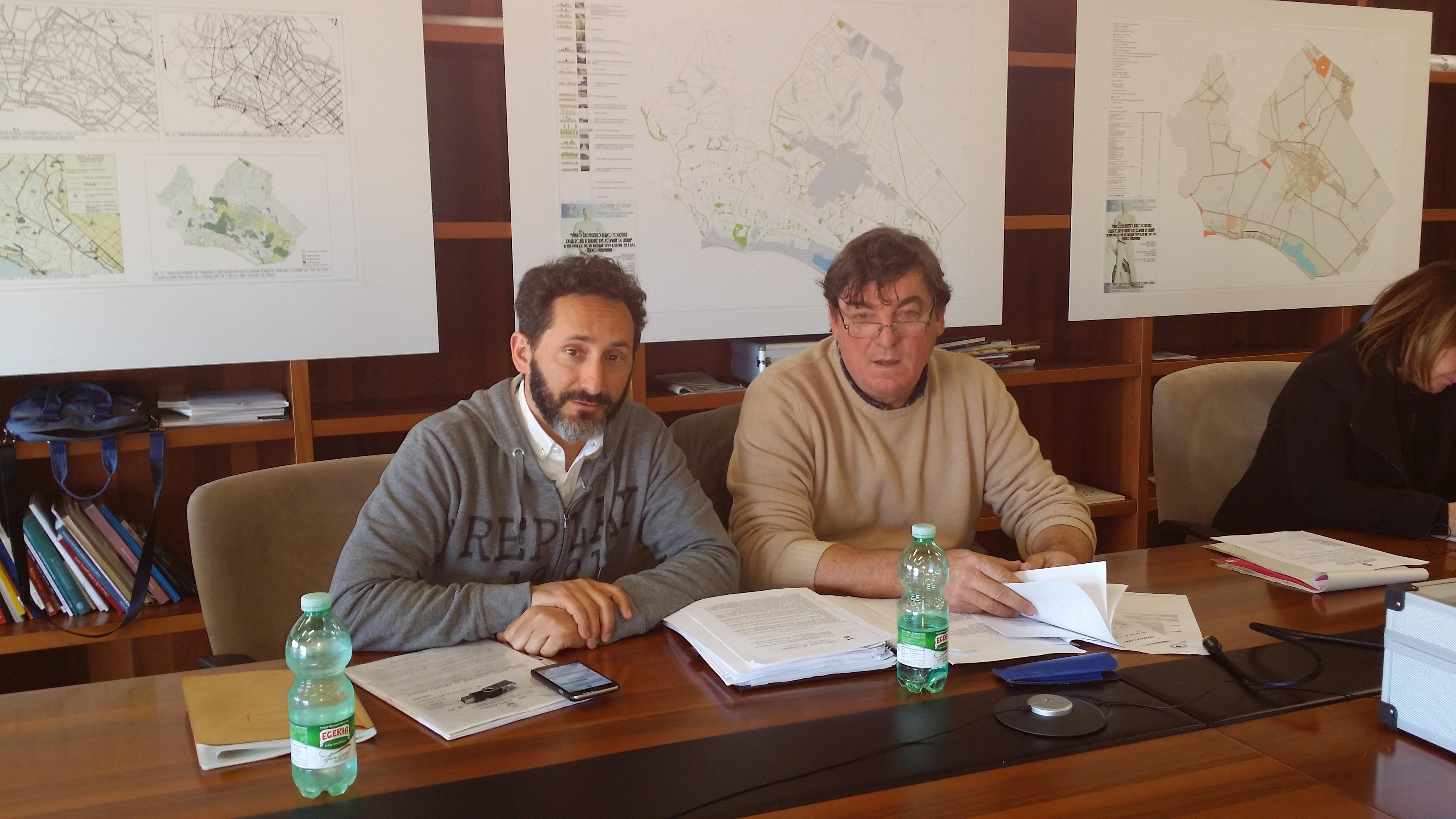 Dario Bellini e Roberto Lessio