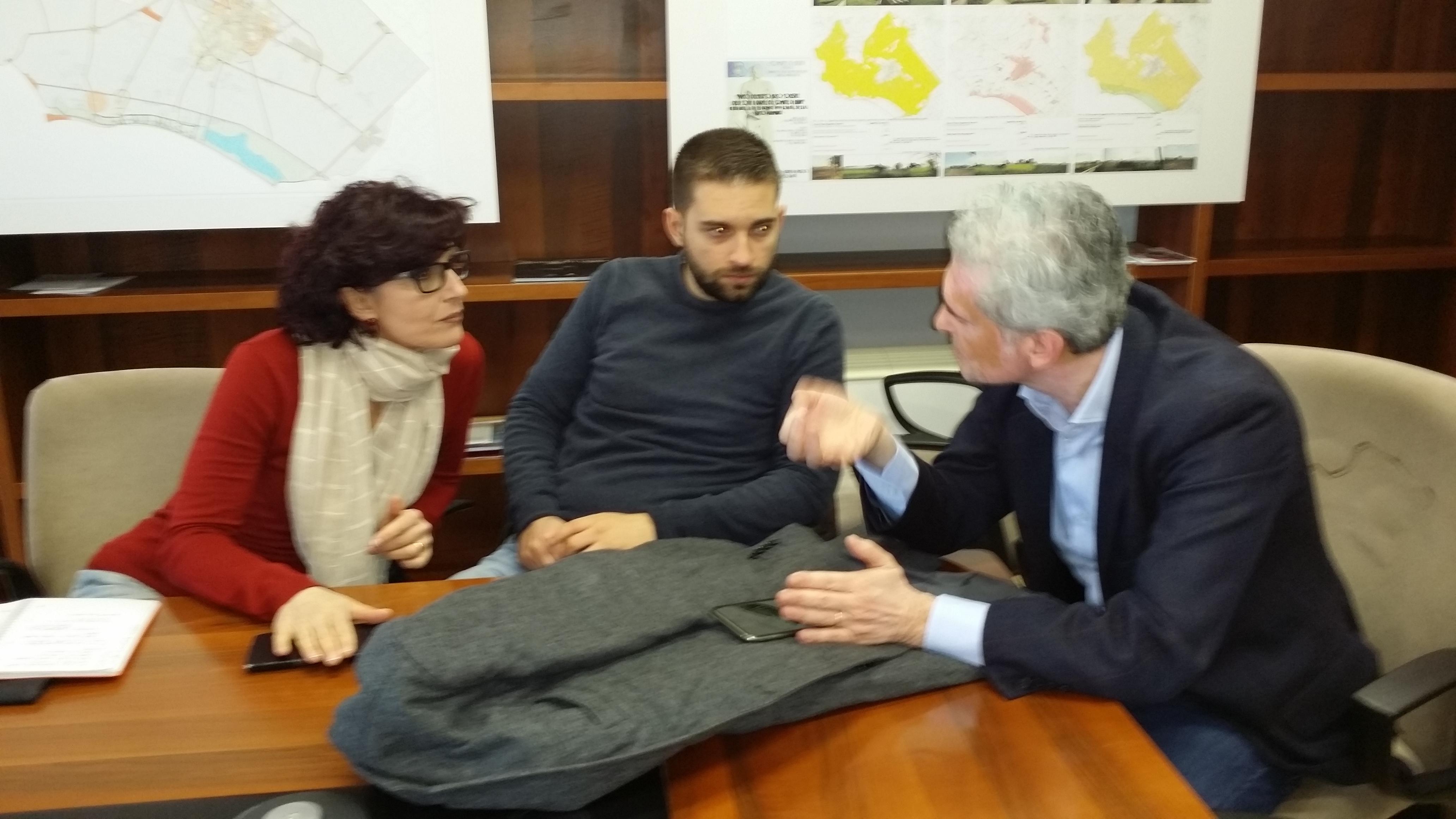Nicoletta Zuliani, Matteo Coluzzi e Alessandro Calvi