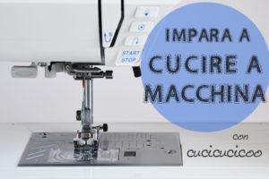 Impara a Cucire a Macchina con Cucicucicoo