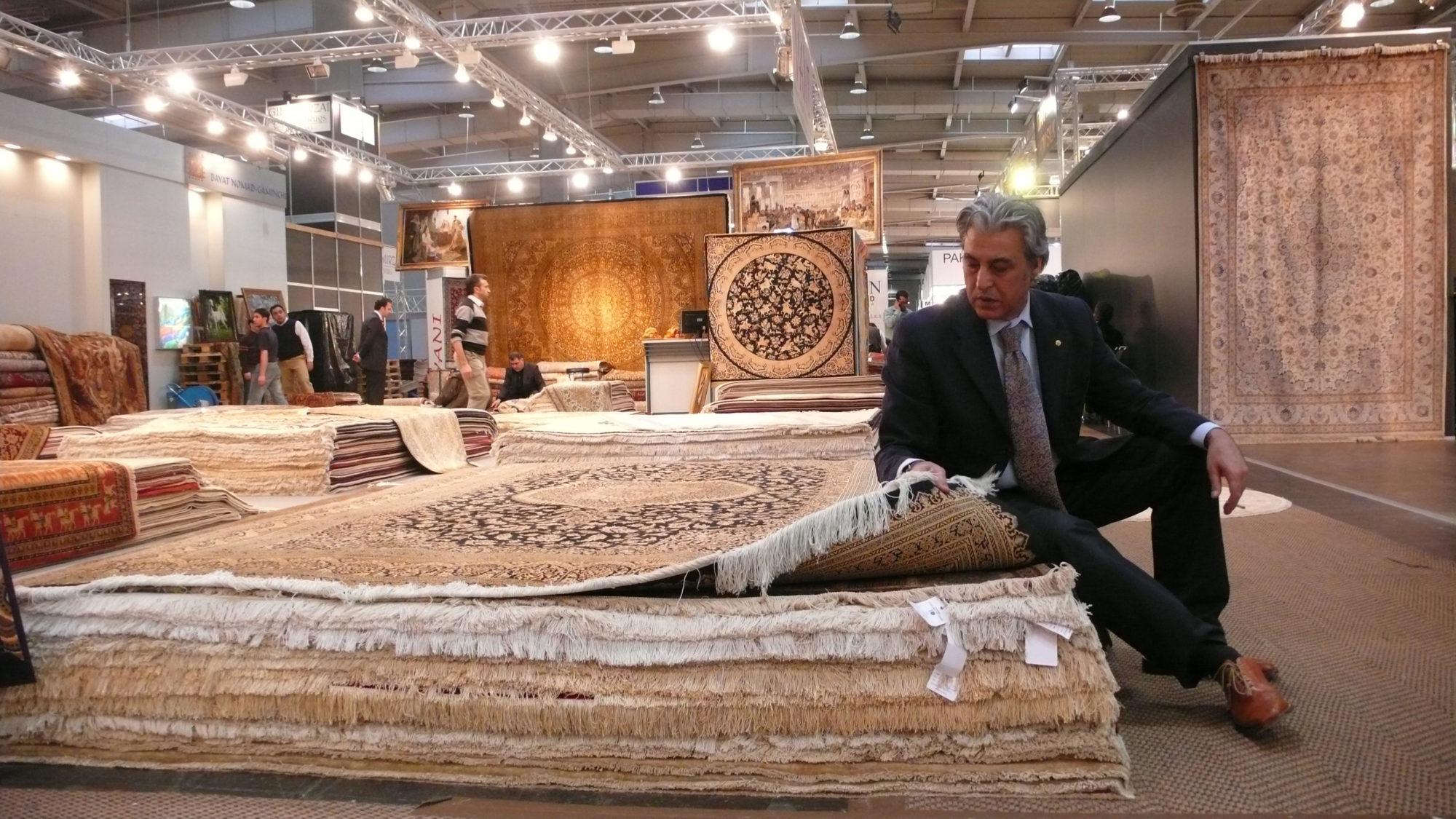 """Rahimi e Latina, un pezzo di storia che se ne va: """"Ma vi lascio tappeti favolosi ..."""
