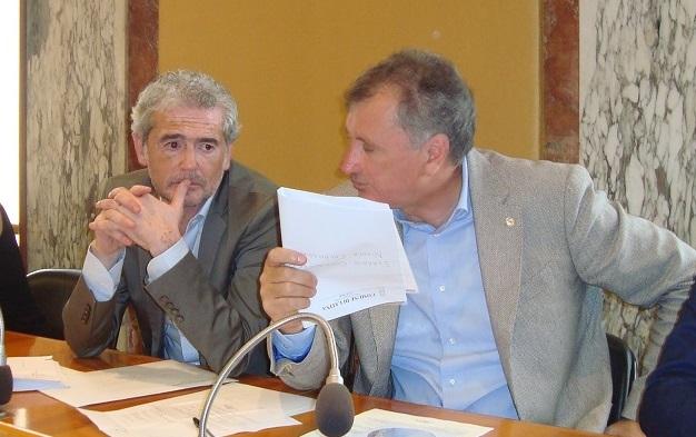 Alessandro Calvi e Nicola Calandrini