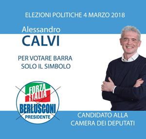 Alessandro Calvi Elezioni 2018 Forza Italia
