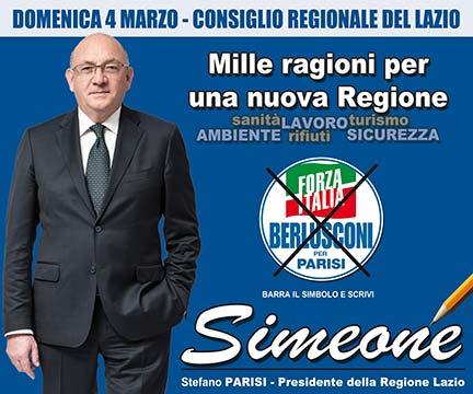Simeone Forza Italia Elezioni 2018