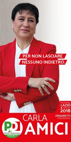 Carla Amici PD Elezioni 2018
