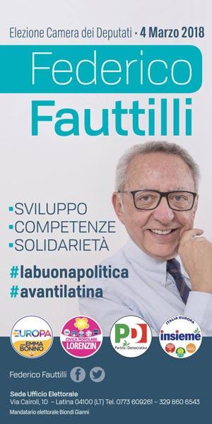 Federico Fauttilli PD Elezioni 2018