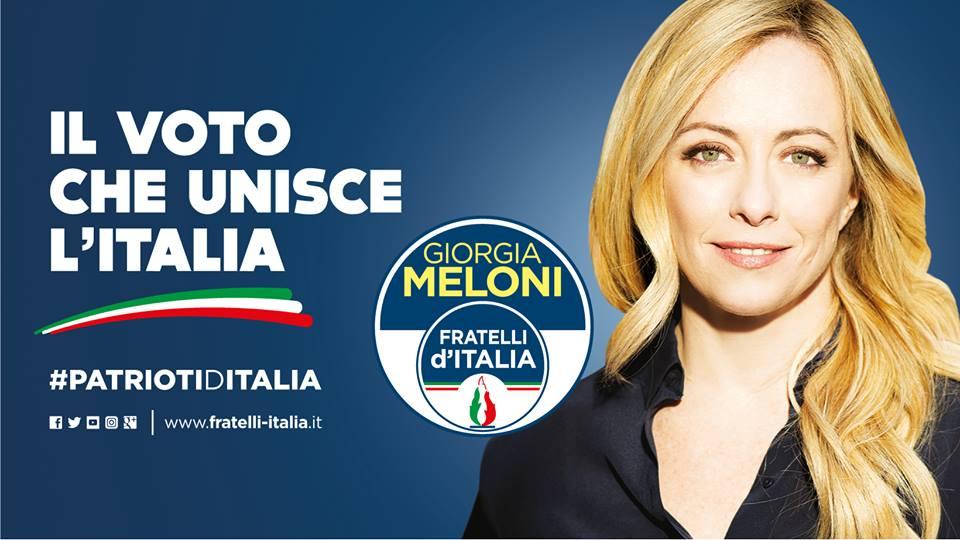 Latina al via la campagna elettorale di fratelli d 39 italia for Meloni arredamenti oristano