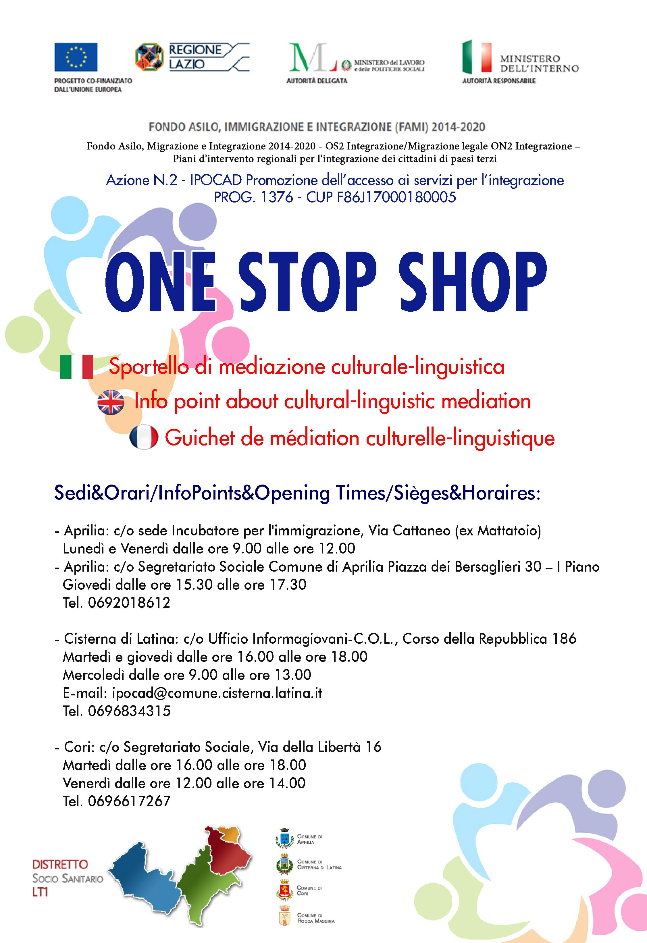 Calendario Differenziata Aprilia 2020.One Stop Shop Apre A Cisterna Lo Sportello Per La