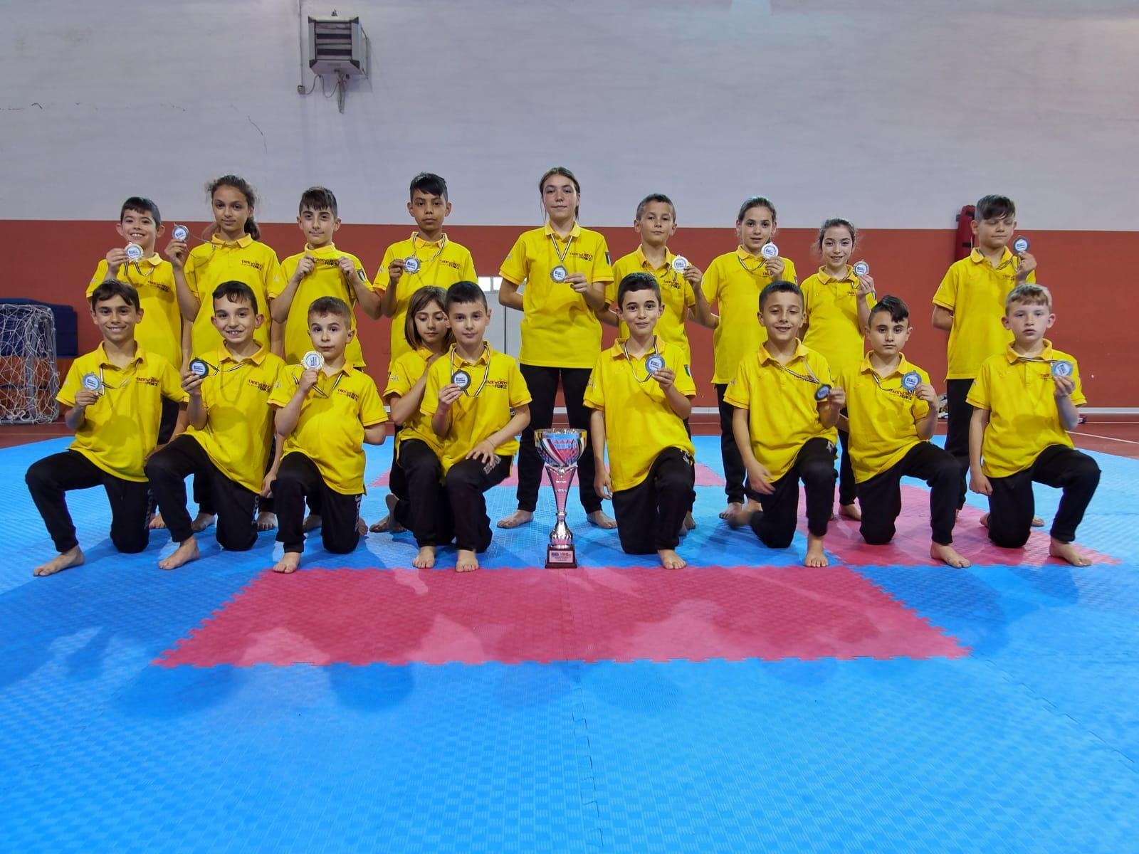 Taekwondo, La Fenice Prima Società Al Lazio Combat 2019