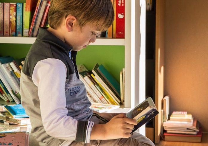biblioteca dei bambini