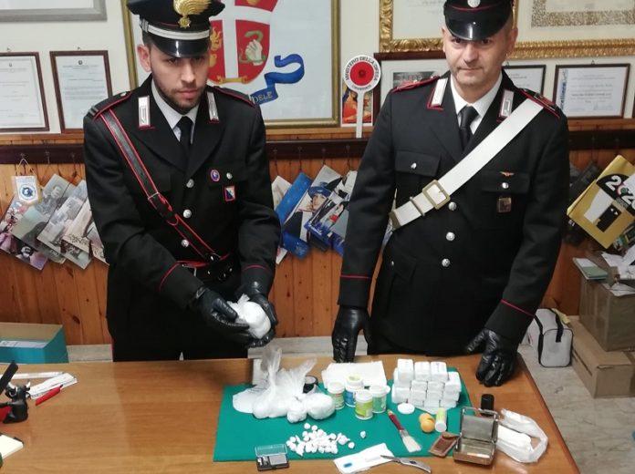 250 grammi di cocaina