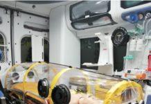 ambulanza ad alto bio contenimento